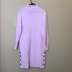Banana Republic Merino wool mockneck sweater dress